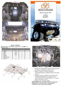 Защита двигателя Fiat Sedici - фото №11