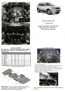 Защита двигателя Ssang Yong Rexton - фото №16 + 1 + 1 + 1 + 1 + 1 + 1