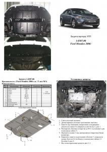 Защита двигателя Ford S-Max - фото №5 + 1