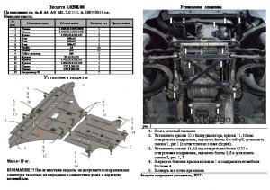 Защита двигателя Audi A5 B8 - фото №9 + 1 + 1 + 1
