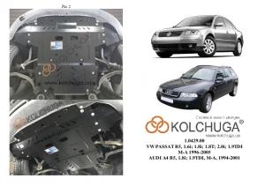 Защита двигателя Volkswagen Passat B5 - фото №13