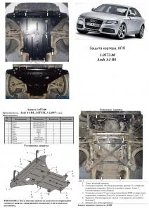 Захист двигуна Audi A4 B8 - фото №12 + 1 + 1