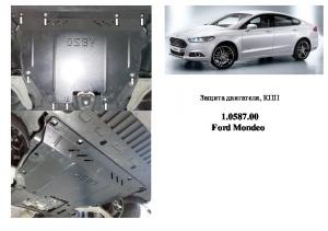 Захист двигуна Ford Mondeo 5 - фото №9 + 1