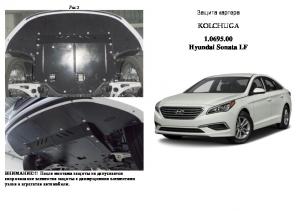 Захист двигуна Hyundai Sonata LF - фото №3