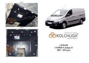 Защита двигателя Citroen Jumpy 3 - фото №9 + 1