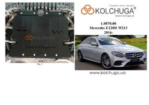 Защита двигателя Mercedes-Benz E-class W213 E220D - фото №3