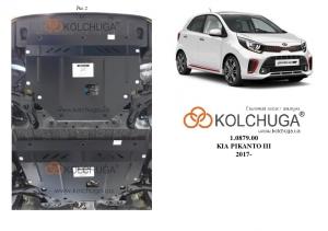 Защита двигателя Kia Picanto - фото №6 + 1 + 1 + 1 + 1 + 1