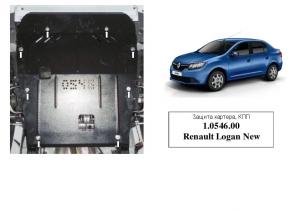 Защита двигателя Dacia Logan - фото №5 + 1 + 1