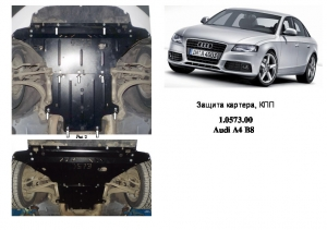 Захист двигуна Audi A5 B8 - фото №12