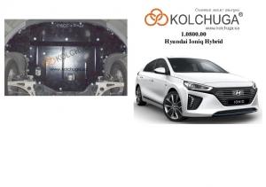 Защита двигателя Hyundai Ioniq Hybrid - фото №3