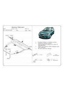 Защита двигателя Mazda Premacy (Mazda 5) - фото №2