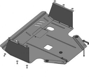 Защита двигателя Hyundai i-20 (1-ое поколение) рестайлинг - фото №3