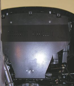 Защита двигателя Subaru Legacy 4 - фото №13