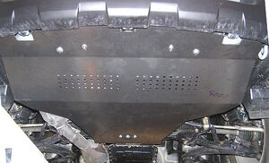 Защита двигателя Subaru Legacy 4 - фото №11