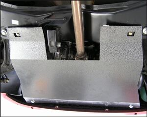 Защита двигателя Fiat Panda - фото №2