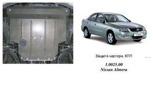 Защита двигателя Nissan Almera 2 - фото №1