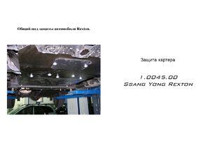 Захист двигуна Ssang Yong Rexton - фото №1