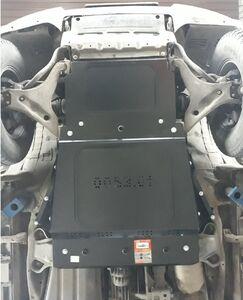 Захист двигуна Mitsubishi Pajero Wagon - фото №2