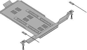 Захист двигуна Subaru Legacy 4 - фото №8