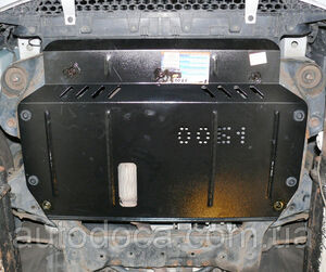 Защита двигателя Hyundai Accent 3 - фото №4