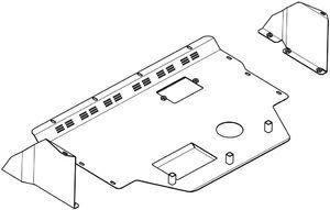 Защита двигателя Citroen Jumper 1 - фото №2