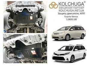 Защита двигателя Toyota Sienna - фото №1