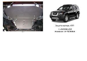 Захист двигуна Nissan X-Terra - фото №1