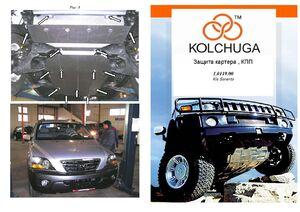 Защита двигателя Kia Sorento 1 - фото №1