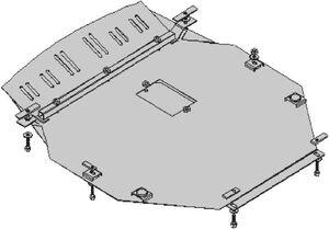 Защита двигателя Kia Carnival (2-е поколение) - фото №3