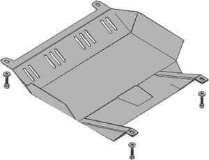 Защита двигателя Fiat Albea - фото №2