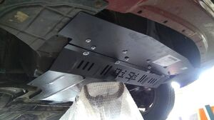 Защита двигателя Nissan Tiida (Versa) - фото №5