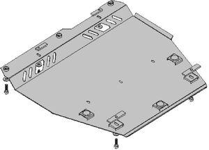 Защита двигателя Nissan Note 1 - фото №7