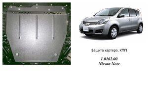 Защита двигателя Nissan Note 1 - фото №3