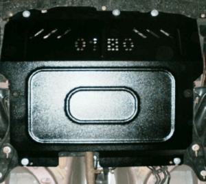 Защита двигателя Peugeot 107 - фото №4