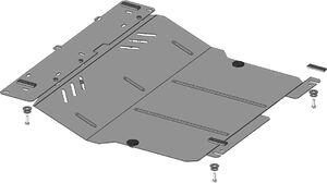 Защита двигателя Peugeot 107 - фото №3