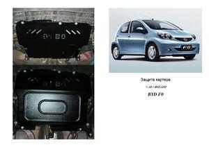 Защита двигателя Peugeot 107 - фото №1