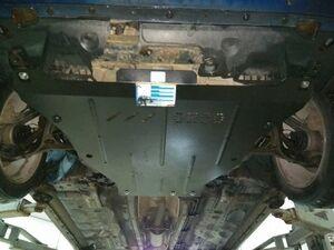 Защита двигателя Honda Accord 8 - фото №2