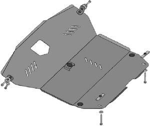 Защита двигателя Hyundai Matrix - фото №3