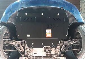 Защита двигателя Skoda Superb 2 - фото №2