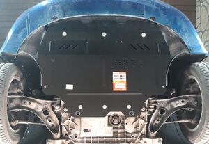 Захист двигуна Skoda Superb 2 - фото №2