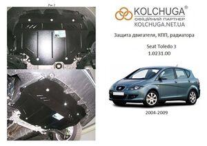 Защита двигателя Seat Toledo 3 - фото №1