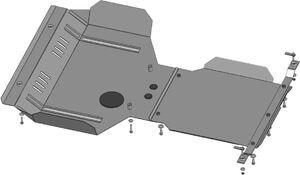 Защита двигателя Subaru Forester 3 SH - фото №8