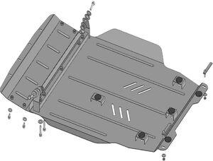 Защита двигателя Mitsubishi Lancer Evolution X - фото №3