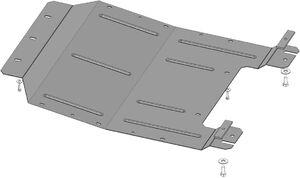 Защита двигателя Fiat Bravo - фото №2