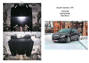 Защита двигателя Lancia Delta - фото №1