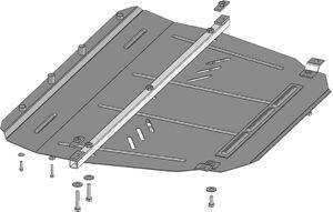 Защита двигателя Toyota Avensis 3 - фото №3