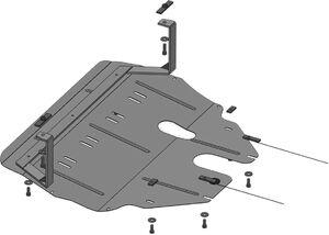 Защита двигателя Seat Ibiza 4 - фото №3