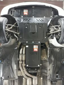 Защита двигателя BMW 5 E39 - фото №9