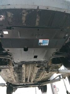 Защита двигателя Renault Megane 2 - фото №6