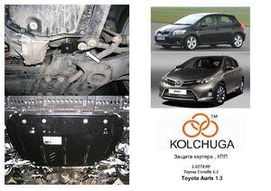 Защита двигателя Toyota Auris E150 - фото №3